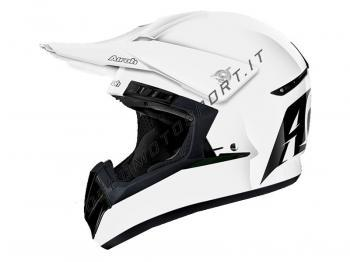 Casco Motocross Airoh 2018 Switch Startruck White Gloss