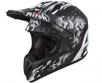 Casco Motocross Airoh 2019 switch backbone