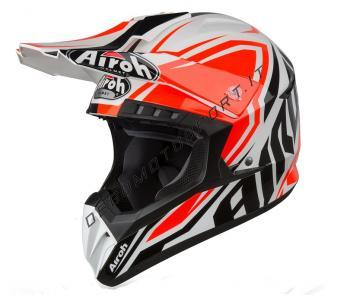 Casco Motocross Airoh 2019 Switch impact orange gloss