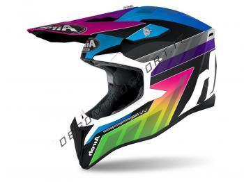 Casco Motocross Airoh 2021 Wraap Prism Matt