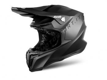 Casco Motocross Airoh Twist Black 2018