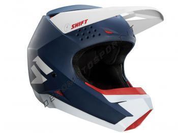 Casco Motocross Shift White Label Navy