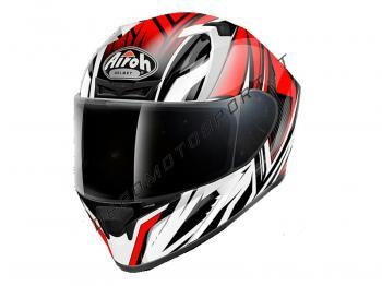 Casco stradale Airoh Valor Conquer Red Gloss