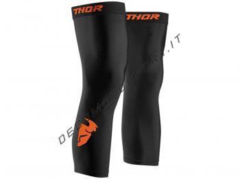 Comp Knee Sleeve Black-Orange