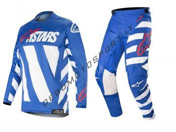 Completo motocross Alpinestars 2019 Racer Braap Blue White Red