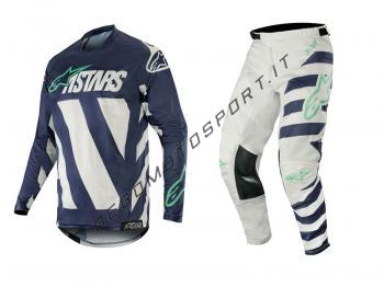 Completo motocross Alpinestars 2019 Racer Braap Cool Gray Dark N