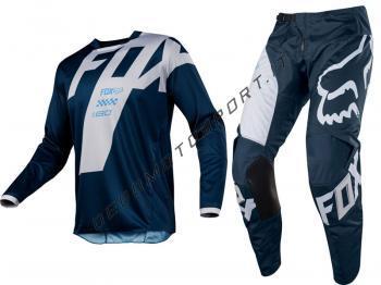 Completo Motocross Fox 2018 180 Mastar Navy