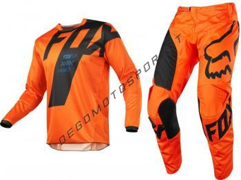 Completo Motocross Fox 2018 180 Mastar Orange