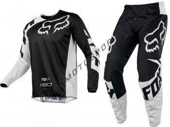 Completo Motocross Fox 2018 180 Race Black