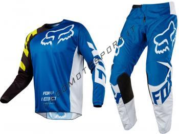 Completo Motocross Fox 2018 180 Race Blue