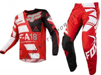 Completo Motocross Fox 2018 180 Sayak Red