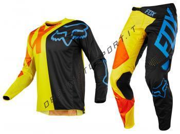 Completo Motocross Fox 2018 360 Preme Black Yellow
