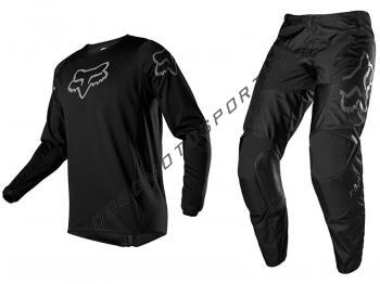 Completo Motocross Fox 2020 180 Prix Black