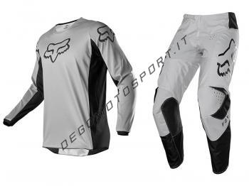 Completo Motocross Fox 2020 180 Prix Grey