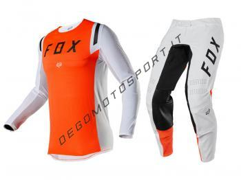 Completo Motocross Fox 2020 Flexair Howk Orange Fluo