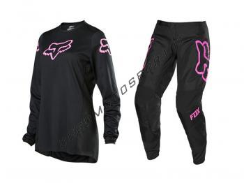 Completo Motocross Fox Woman 2020 180 Prix Black-Pink