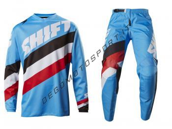 Completo Motocross Shift 2017 Tarmac Blue