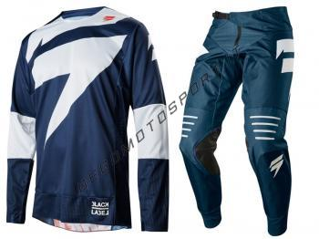 Completo Motocross Shift 2018 Label Black Mainline Navy