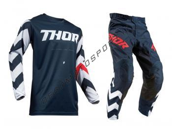 Completo motocross Thor 2019 Pulse Stunner Midnight-White