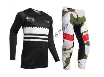Completo Motocross Thor 2020 Prime Pro Baddy  Black