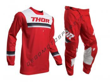 Completo Motocross Thor 2020 Pulse Pinner Red