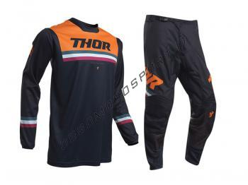 Completo Motocross Thor 2020 Youth Pulse Air Pinner Midnight-Ora
