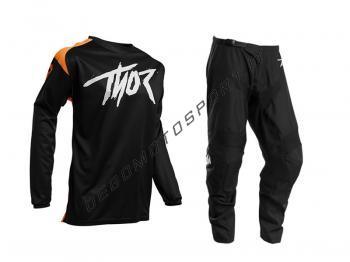 Completo Motocross Thor 2021 Sector Link Orange