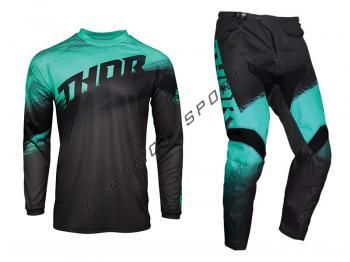 Completo Motocross Thor 2021 Sector Vapor Mint-Charcoal