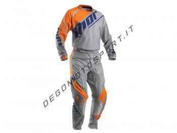 Completo Motocross Thor Bambino Vented Gray