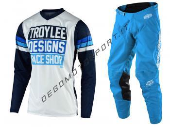 Completo Motocross Troy Lee Designs 2020 GP Air Carlsbad White-N