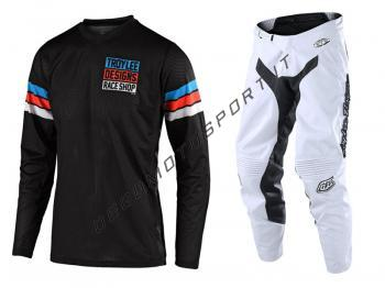 Completo Motocross Troy Lee Designs 2020 GP Air Saddleback Black