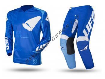 Completo motocross Ufo Inidium 2021 blu