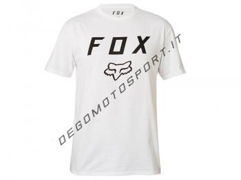 Fox Legacy Moth ss tee optical white
