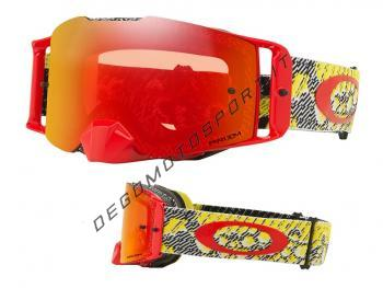 Front Line™ MX Goggle dazzle dyno red yellow torch