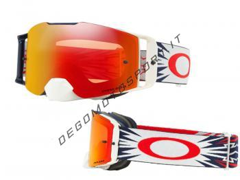 Front Line™ MX Goggle High Voltage Red Navy