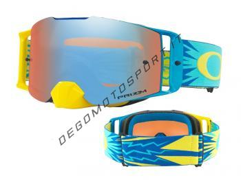 Front Line™ MX Goggle higth voltage blue yellow sapphire