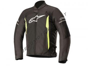 Giacca Alpinestars T Faster Air Jacket Black Yellow Fluo