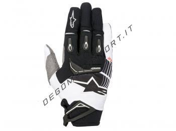 Guanti Motocross Alpinestars 2018 Techstar Black White