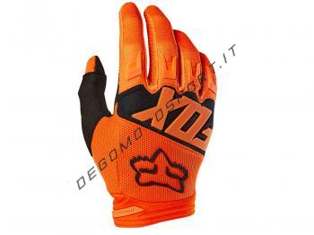 Guanti Motocross Fox 2018 Dirtpaw Race Orange Bambino