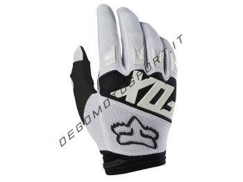 Guanti Motocross Fox 2018 Dirtpaw Race White