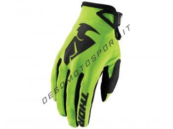 Guanti Motocross Thor 2018 Sector Lime
