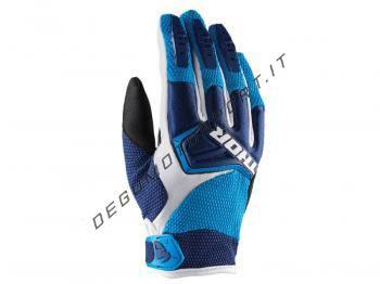 Guanti Motocross Thor Spectrum Navy Blue White