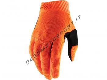 Guanti Ridefit 100% Arancione Fluo