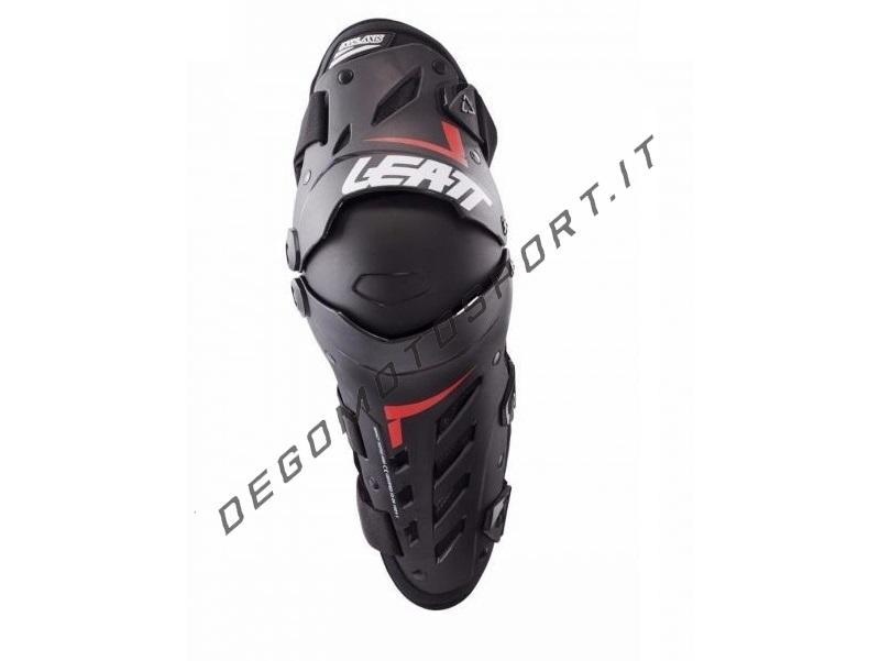 Ginocchiere Leatt Axis Black Red