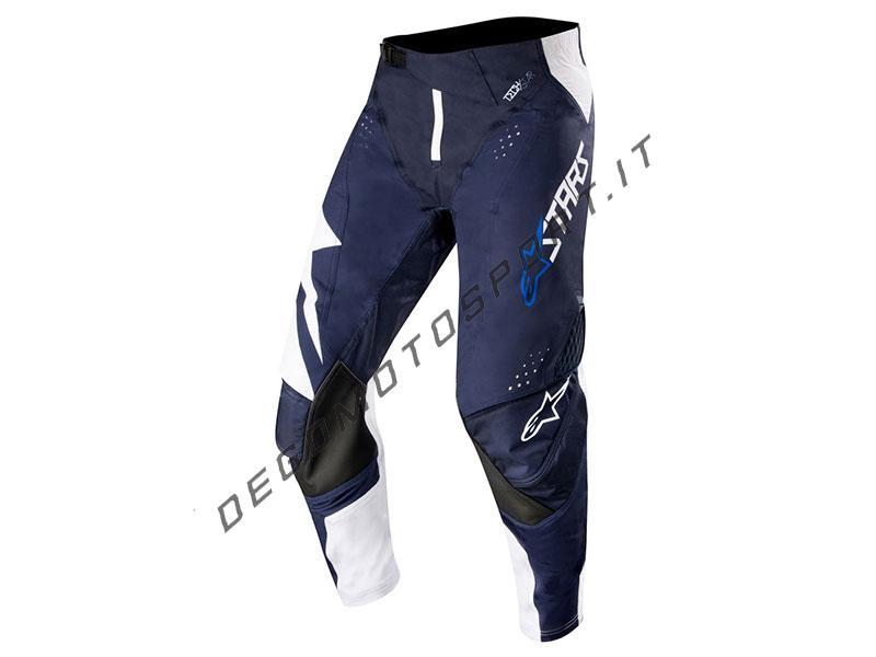 Pantaloni motocross Alpinestars 2019 Techstar Factory White Dark