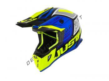 just one j38 blade blue fluo yellow black gloss