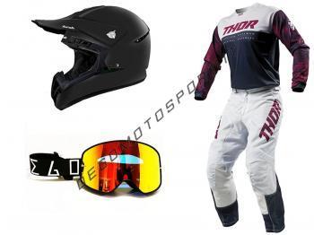 Kit 2019 Completo + casco + maschera