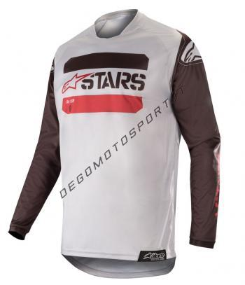 Maglia motocross Alpinestars 2019 Racer Tactical Black Gray Burg