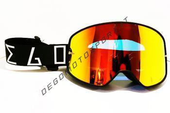 Maschera Degomotosport Black