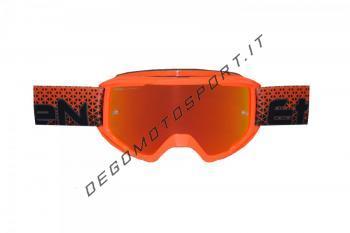 Maschera Ethen OTG06 Middle Orange Fluo